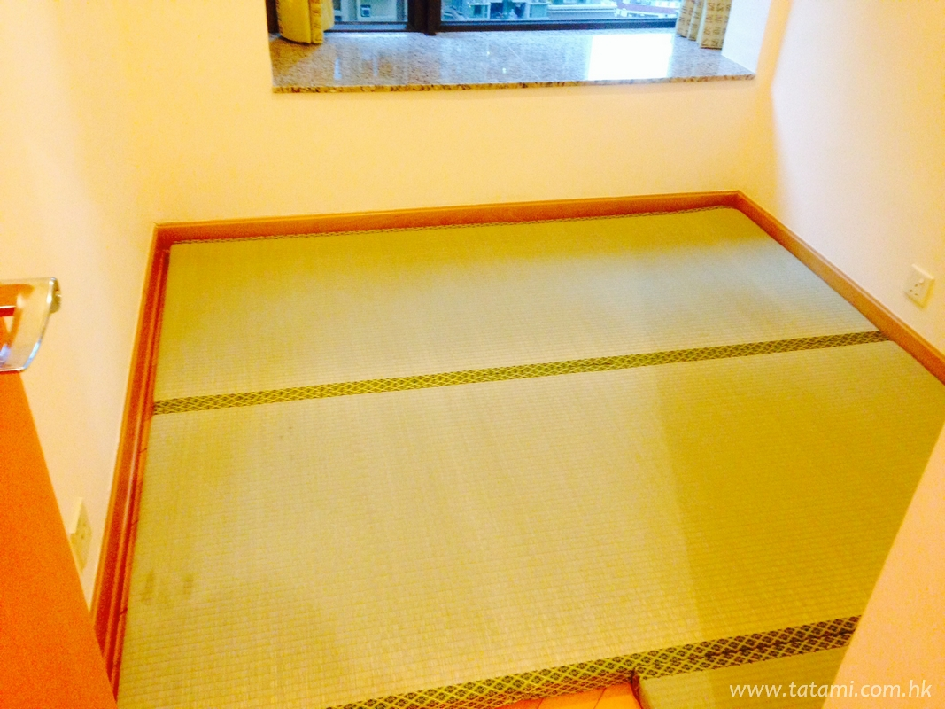 Tatami design in one of the appartment in Liberté, Cheung Sha Wan.<br />June, 2014